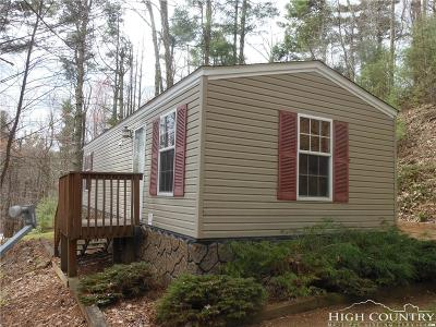 Caldwell County, Alexander County, Watauga County, Ashe County, Avery County, Burke County Single Family Home Under Contract - Show: 283 Ben Laurel Way