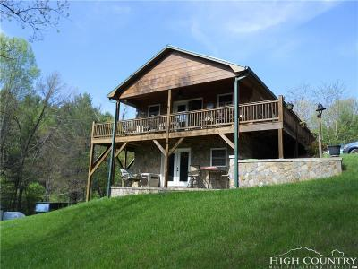 Caldwell County, Alexander County, Watauga County, Avery County, Ashe County, Burke County Single Family Home For Sale: 439 Thistle Hill Lane