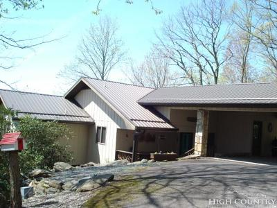 Avery County Single Family Home For Sale: 584 Glenview Road