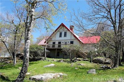 Avery County Single Family Home For Sale: 602 Beech Mountain Parkway