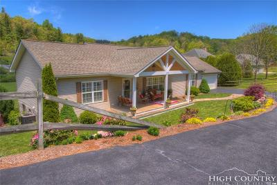 Watauga County Single Family Home For Sale: 156 Violet Lane