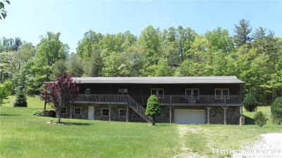 Alexander County, Burke County, Caldwell County, Ashe County, Avery County, Watauga County Single Family Home Under Contract - Show: 1240 S Laurel Fork Road