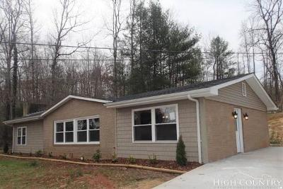 Caldwell County, Alexander County, Watauga County, Avery County, Ashe County, Burke County Single Family Home For Sale: 2226 Bristol Creek Ave