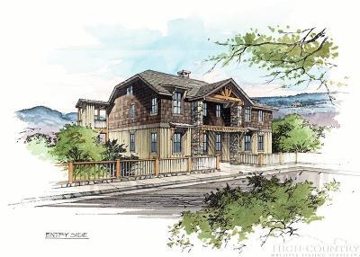 Watauga County Condo/Townhouse For Sale: Tbd Cone Vista Circle #5A