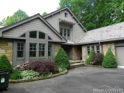 Avery County Single Family Home For Sale: 635 Elk Knob Drive #