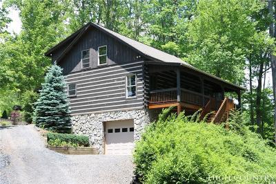 Ashe County Single Family Home For Sale: 505 Laurel Glen Drive