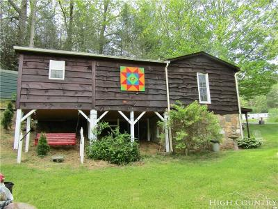 Ashe County Single Family Home Under Contract - Show: 296 Guy Neaves Road
