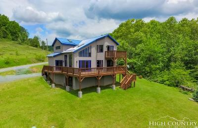 Alexander County, Ashe County, Avery County, Burke County, Caldwell County, Watauga County Single Family Home For Sale: 1339 Hopewell Church Road