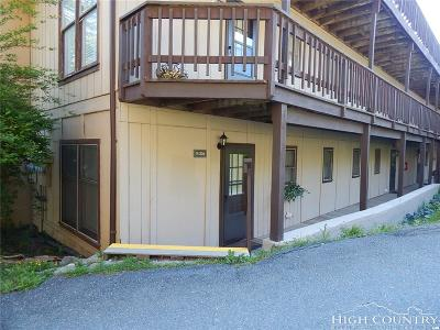 Watauga County Condo/Townhouse For Sale: 101 Lower Holiday Lane #B106