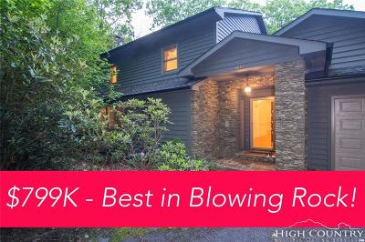 Blowing Rock Single Family Home For Sale: 1613 Green Hill Road
