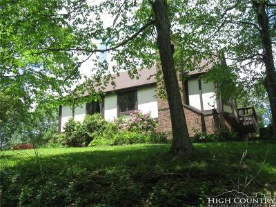 Alexander County, Ashe County, Avery County, Burke County, Caldwell County, Watauga County Single Family Home For Sale: 392 Hickory Heights Drive