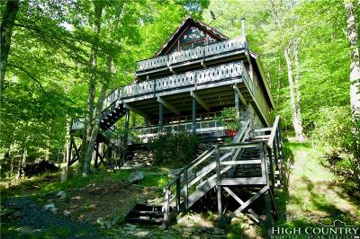 Watauga County Single Family Home For Sale: 120 Pond Creek Road