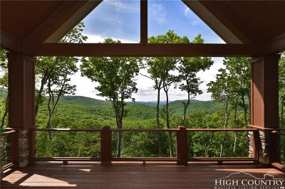 Alexander County, Ashe County, Avery County, Burke County, Caldwell County, Watauga County Single Family Home For Sale: 1713 Forest Ridge Drive