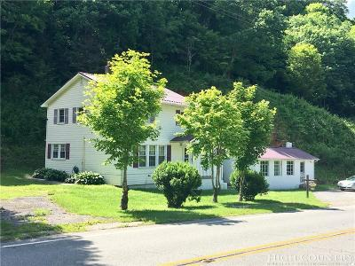 Alexander County, Caldwell County, Ashe County, Avery County, Watauga County, Burke County Single Family Home For Sale: 2990 N Us 19e Highway
