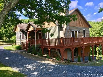 Blowing Rock Single Family Home For Sale: 118 Snowflake Lane