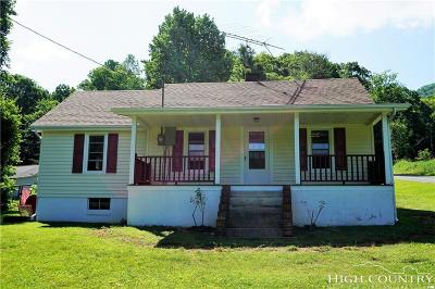 Ashe County Single Family Home For Sale: 934 Carl Eastridge Road