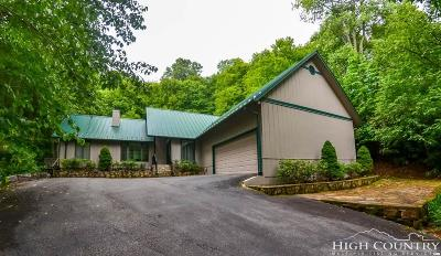Avery County Single Family Home For Sale: 191 Mossy Creek Lane