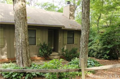 Blowing Rock Single Family Home For Sale: 1705 Green Hill Road