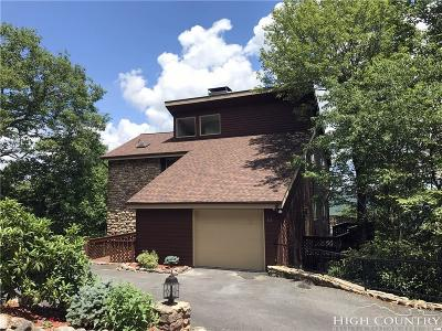 Alexander County, Ashe County, Avery County, Burke County, Caldwell County, Watauga County Single Family Home Under Contract - Show: 611 Gorge View Drive Drive