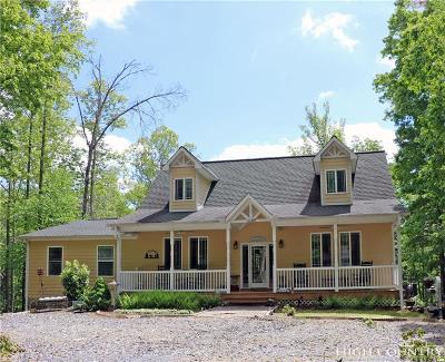 Watauga County Single Family Home For Sale: 3269 Powder Horn Mountain Road