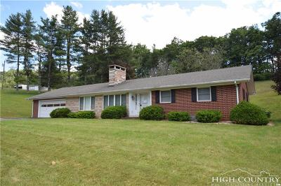 Caldwell County, Alexander County, Watauga County, Avery County, Ashe County, Burke County Single Family Home For Sale: 9152 Nc Highway 16 Highway