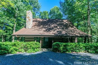 Watauga County Single Family Home Under Contract - Show: 380 Devils Lake Drive