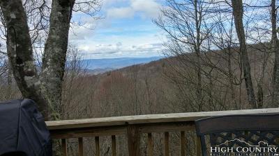 Beech Mountain Single Family Home For Sale: 104 Hummingbird Lane