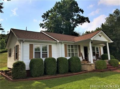 Elk Park Single Family Home For Sale: 379 Flat Springs Road