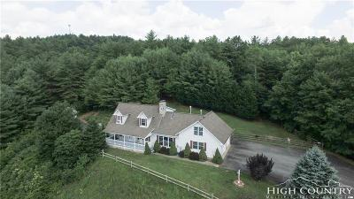 Ashe County Single Family Home Under Contract - Show: 5106 Idlewild Road