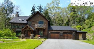 Alexander County, Ashe County, Avery County, Burke County, Caldwell County, Watauga County Single Family Home Under Contract - Show: 924 Tyneloch Drive