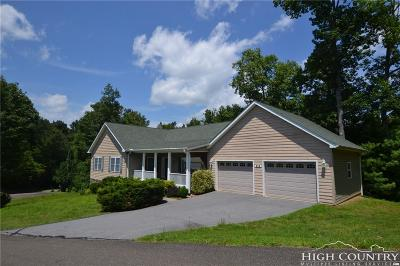 Ashe County Single Family Home For Sale: 137 Timber Song Road