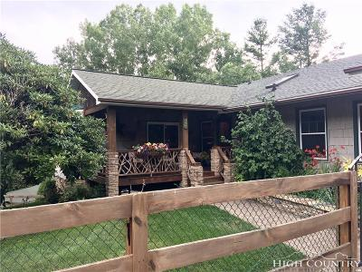 Alexander County, Ashe County, Avery County, Burke County, Caldwell County, Watauga County Single Family Home For Sale: 357 Dogwood Road