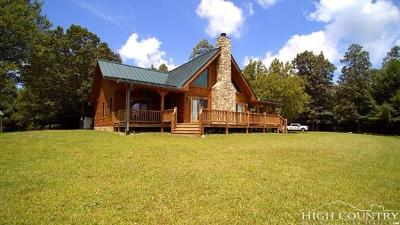 Single Family Home For Sale: 2376 Panther Creek Road