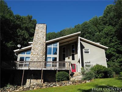 Watauga County Single Family Home For Sale: 324 Clark Swift Road