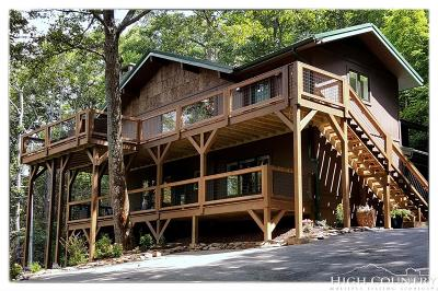 Blowing Rock Single Family Home For Sale: 275 Fair Mountain