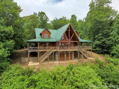 Ashe County Single Family Home For Sale: 121 Fraser Creek Road