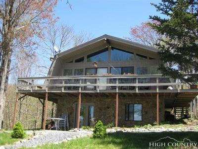 Watauga County Single Family Home For Sale: 131 Upper Snowbird Trail Club