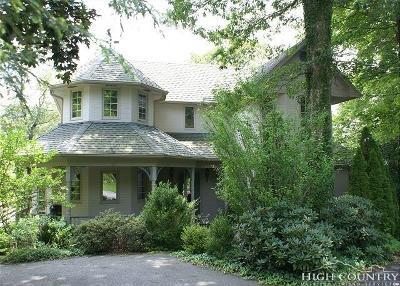 Blowing Rock Single Family Home For Sale: 183 Elizabeth Lane