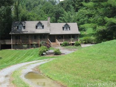 Watauga County Single Family Home For Sale: 164 Marie's Path