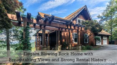 Blowing Rock Single Family Home For Sale: 7987 Pine Ridge Lane
