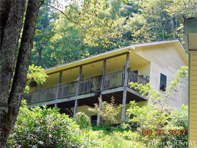 Caldwell County, Alexander County, Watauga County, Avery County, Ashe County, Burke County Single Family Home For Sale: 136 Clarks Lane