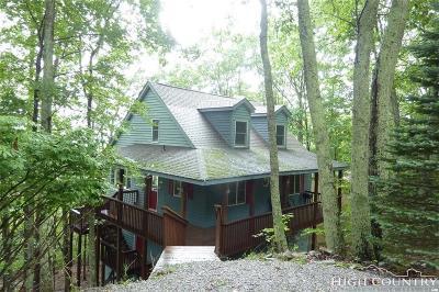 Watauga County Single Family Home For Sale: 529 Pine Ridge Road
