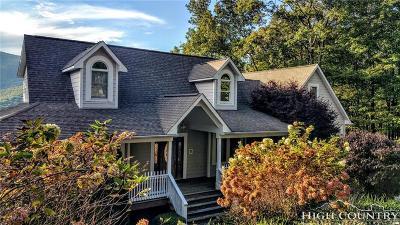 Ashe County Single Family Home For Sale: 629 Fairway Ridge Drive