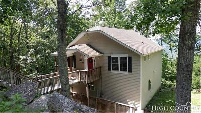 Beech Mountain Single Family Home For Sale: 918 & 920 Pine Ridge Road