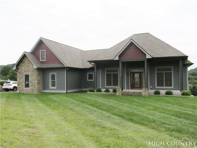 Ashe County Single Family Home For Sale: 1521 Golf Course Road