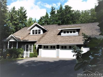 Blowing Rock Single Family Home For Sale: 262 High Ridge Lane