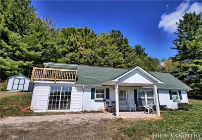 Ashe County Single Family Home For Sale: 1947 Highway 16 North
