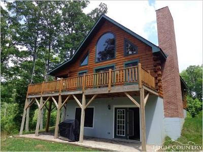 Watauga County Single Family Home For Sale: 326 Bubbling Brook Road