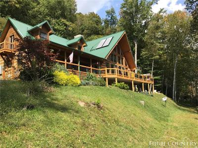Boone Single Family Home For Sale: 1185 River Ridge Road