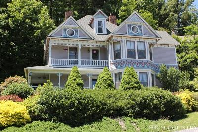 Watauga County Single Family Home For Sale: 326 Green Street